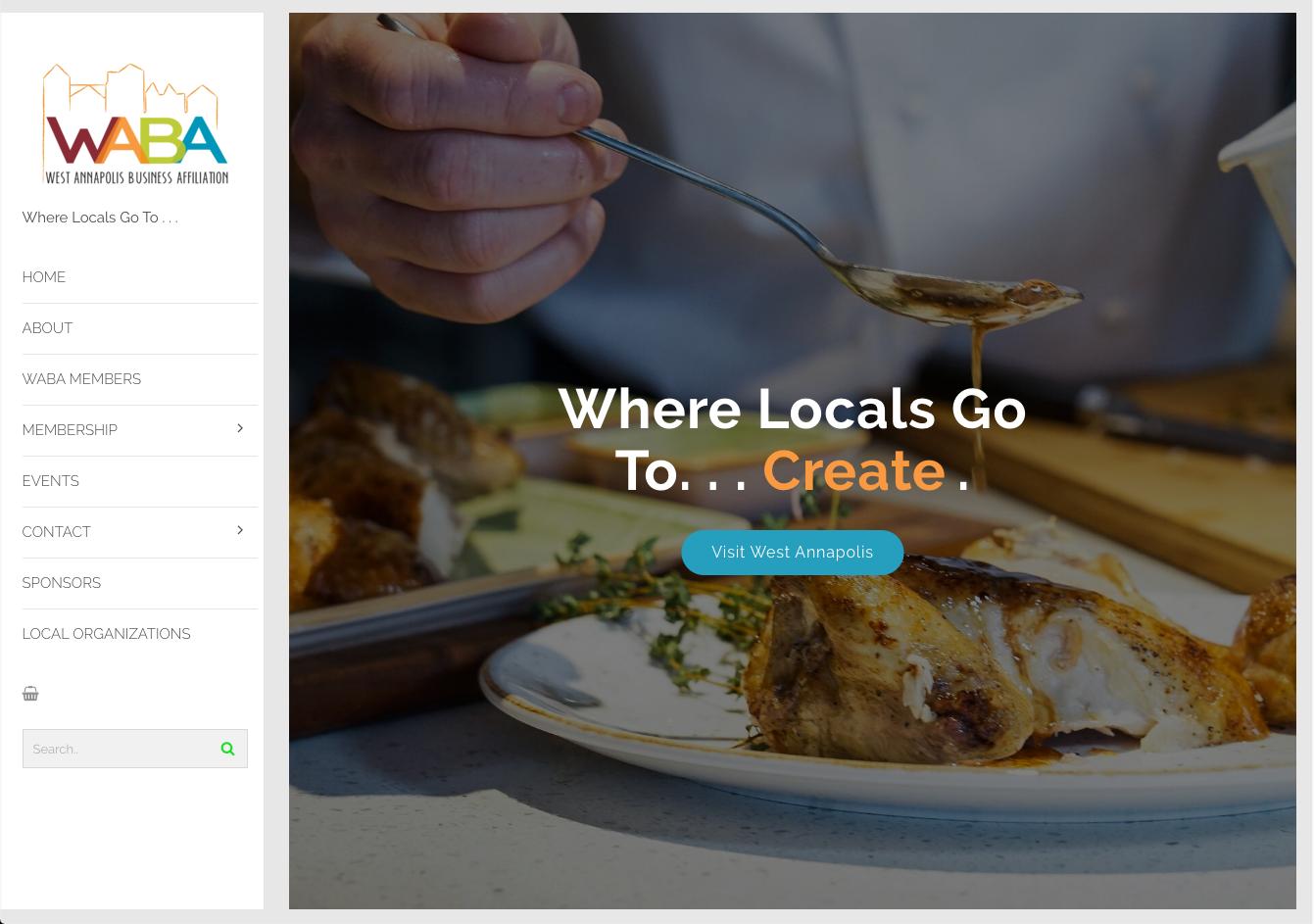 WABA Landing Page