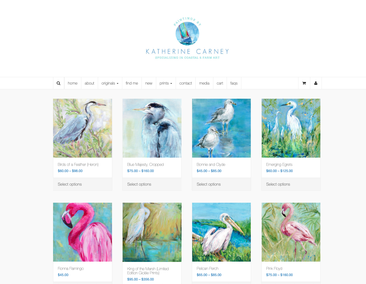 Katherine Carney Product Page
